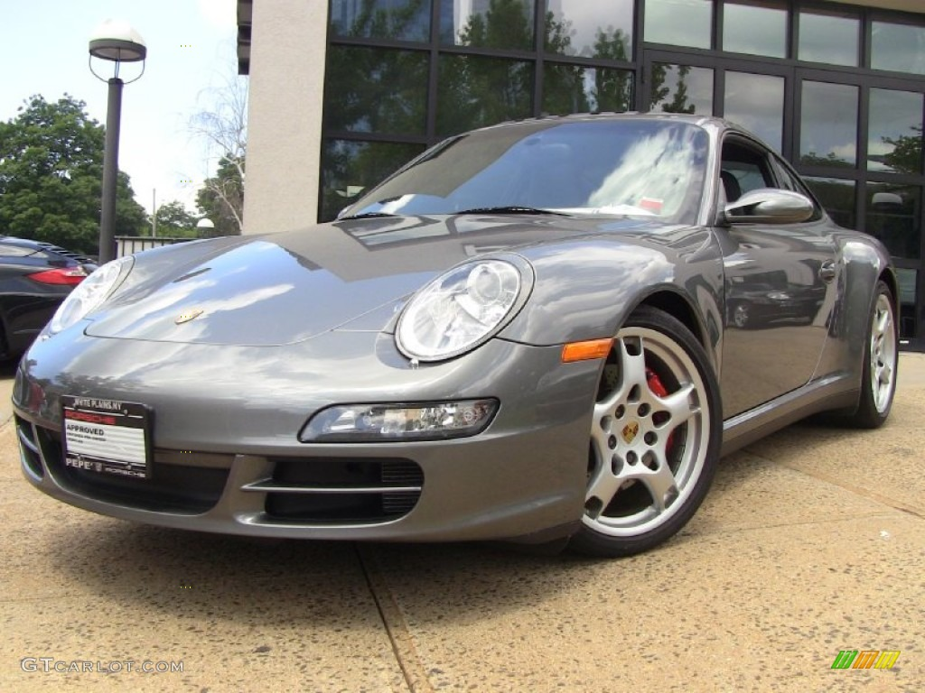 2008 meteor grey metallic porsche 911 carrera 4s coupe. Black Bedroom Furniture Sets. Home Design Ideas