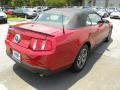 2011 Red Candy Metallic Ford Mustang V6 Premium Convertible  photo #11