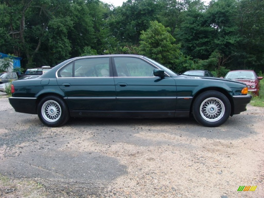 Oxford Green Metallic 1996 Bmw 7 Series 740il Sedan Exterior Photo 51033985