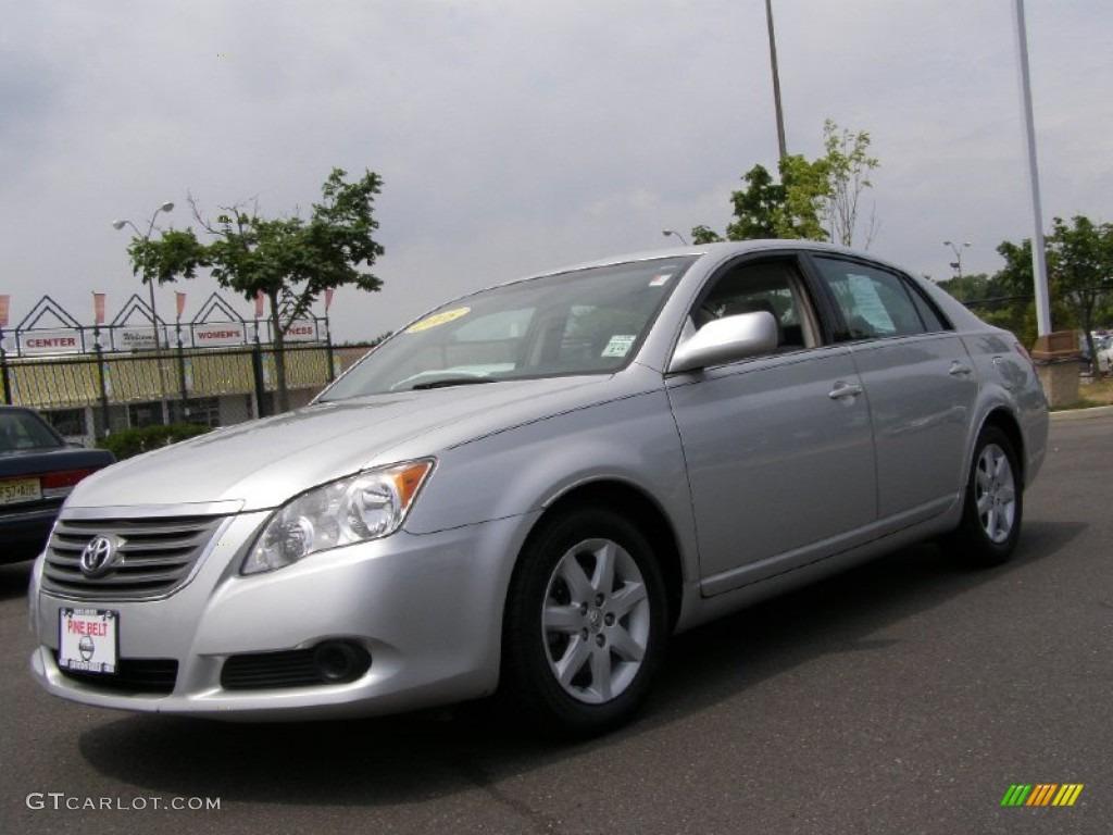 2008 classic silver metallic toyota avalon xl 50998952 car color galleries. Black Bedroom Furniture Sets. Home Design Ideas