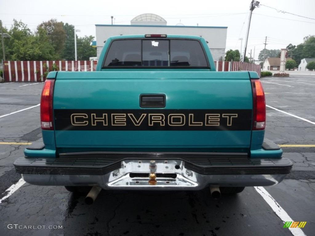 1024 x 768 · 149 kB · jpeg, Bright Teal Metallic 1995 Chevrolet C/K