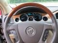 Cocoa/Cashmere Steering Wheel Photo for 2009 Buick Enclave #51037378