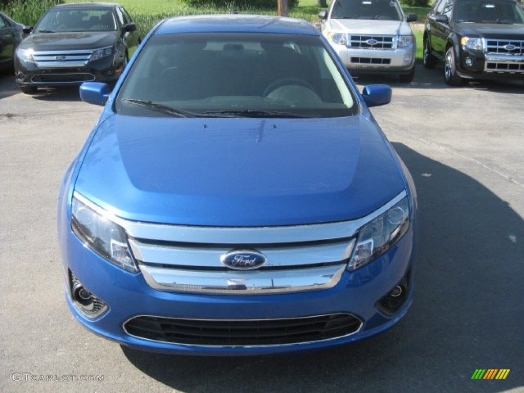 2011 Fusion SEL - Blue Flame Metallic / Charcoal Black photo #1