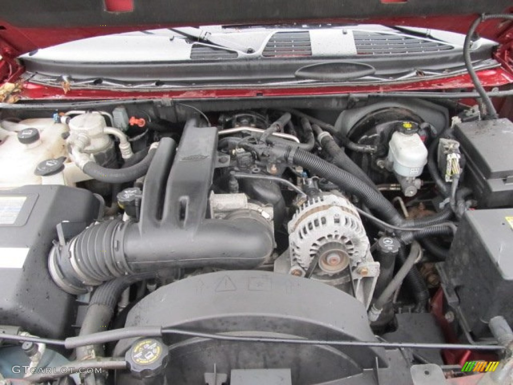 2005 chevrolet trailblazer ext lt 4x4 4 2 liter dohc 24 valve vortec inline 6 cylinder engine. Black Bedroom Furniture Sets. Home Design Ideas