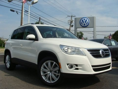 2011 Volkswagen Tiguan SE 4Motion Data, Info and Specs