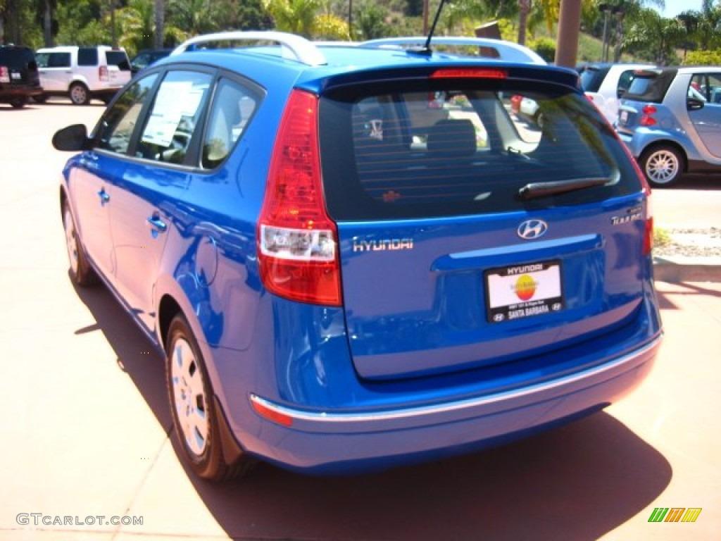 2011 Vivid Blue Hyundai Elantra Touring Gls 50998053