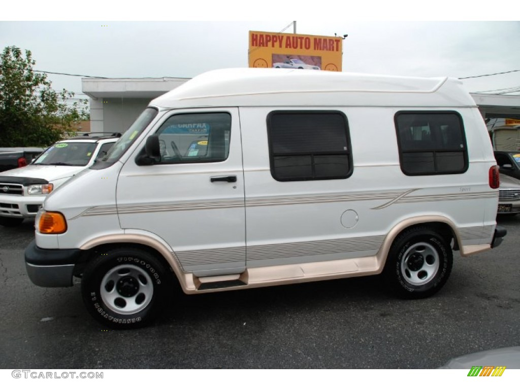 2003 bright white dodge ram van 1500 passenger conversion 50998560 car color. Black Bedroom Furniture Sets. Home Design Ideas