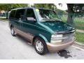 2002 Dark Forest Green Metallic Chevrolet Astro LT AWD  photo #11