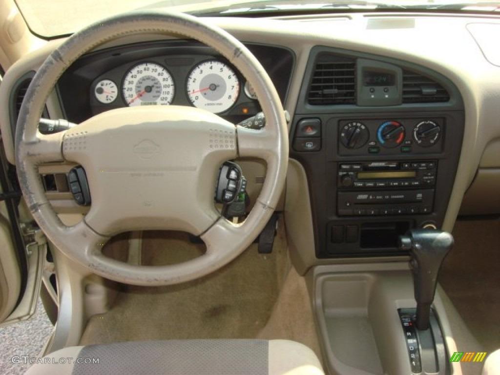 2001 Nissan Pathfinder Le Beige Dashboard Photo 51083213