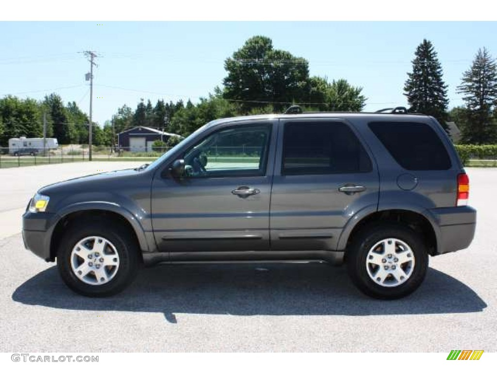 Dark Shadow Grey Metallic 2006 Ford Escape Limited 4wd