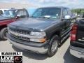 2002 Medium Charcoal Gray Metallic Chevrolet Silverado 1500 LT Extended Cab 4x4  photo #3
