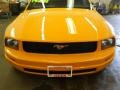 2007 Grabber Orange Ford Mustang V6 Deluxe Coupe  photo #20