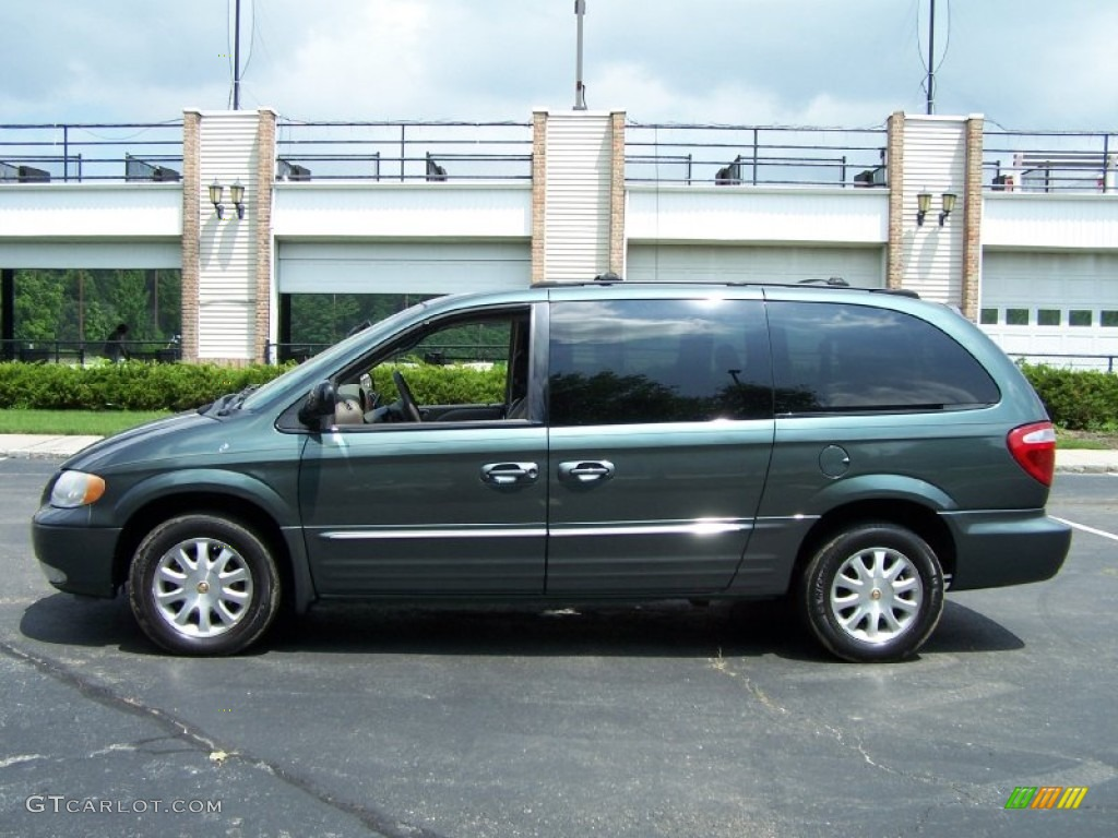 onyx green pearlcoat 2002 chrysler town country lxi exterior photo. Cars Review. Best American Auto & Cars Review
