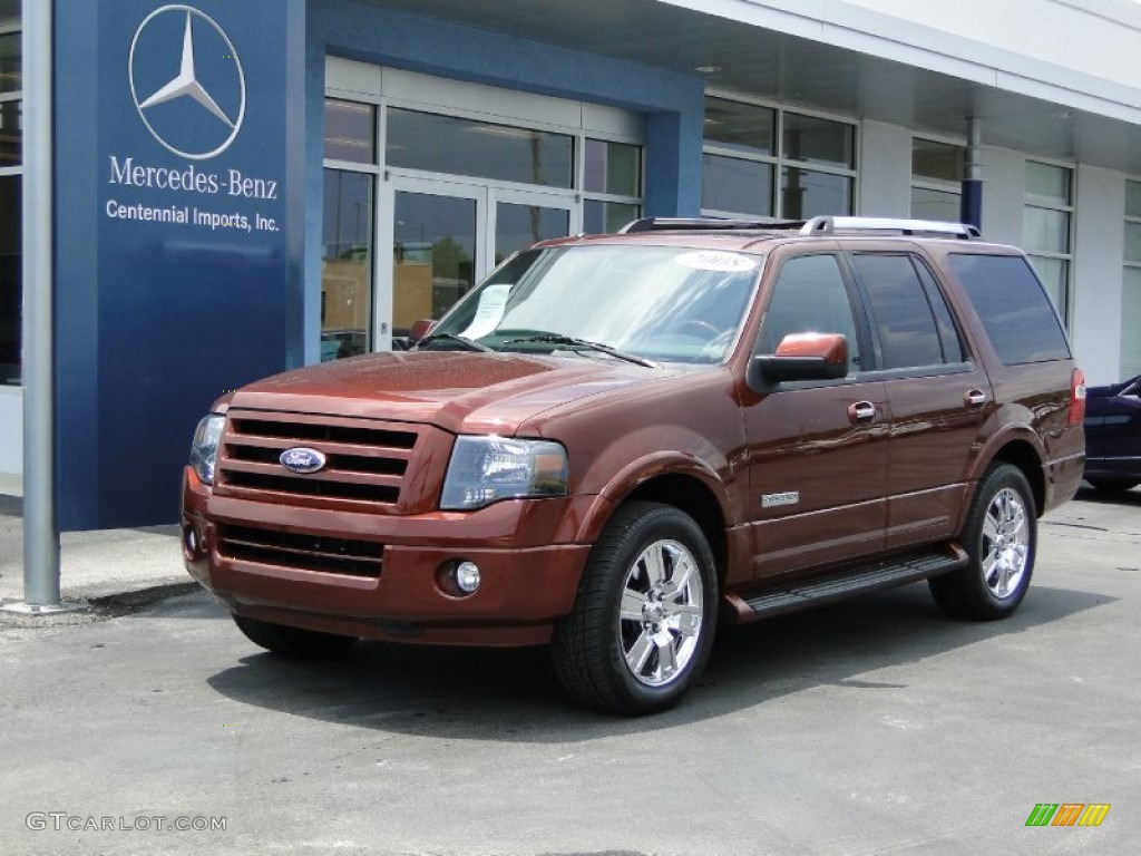 Dark Copper Metallic Ford Expedition