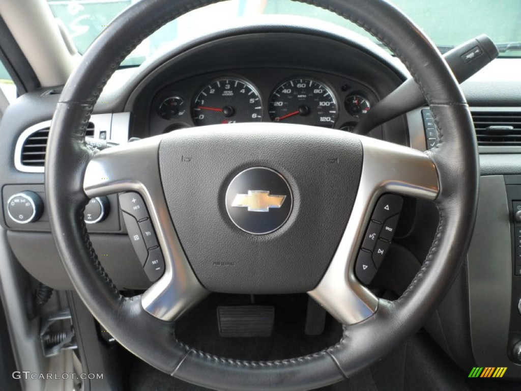 2007 chevrolet tahoe z71 4x4 light titanium ebony steering. Black Bedroom Furniture Sets. Home Design Ideas