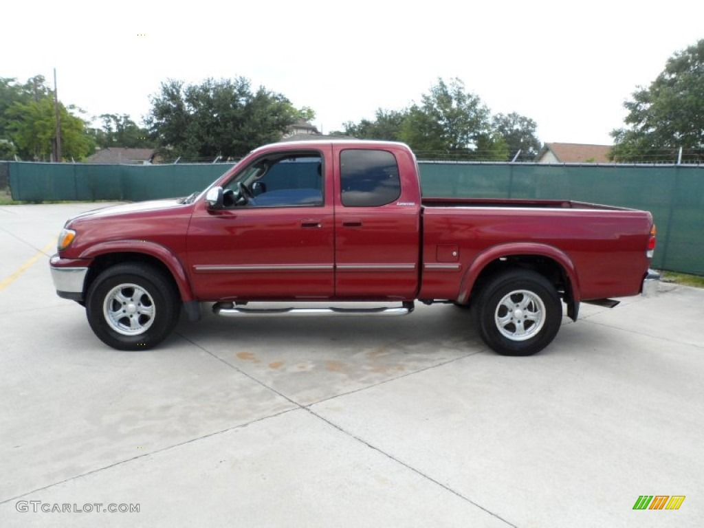 sunfire red pearl 2000 toyota tundra limited extended cab exterior photo 51147614. Black Bedroom Furniture Sets. Home Design Ideas