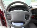 2000 Toyota Tundra Gray Interior Steering Wheel Photo