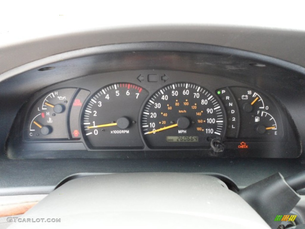 2000 Toyota Tundra Limited Extended Cab Gauges Photo