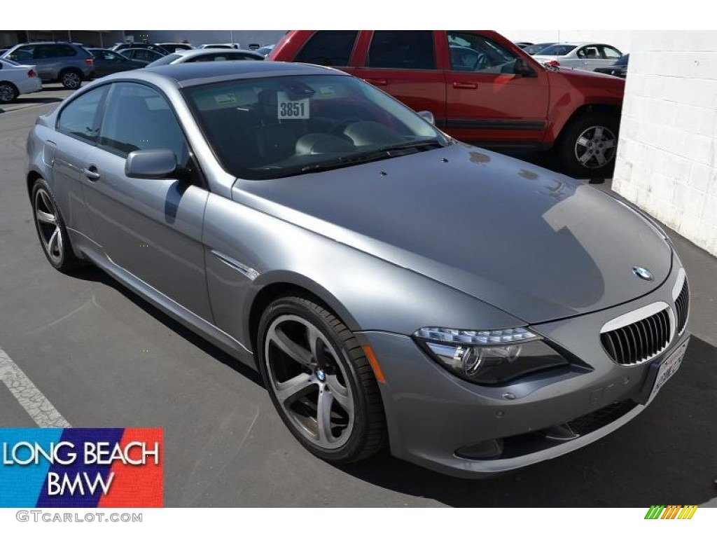 2008 space grey metallic bmw 6 series 650i coupe 51134207. Black Bedroom Furniture Sets. Home Design Ideas