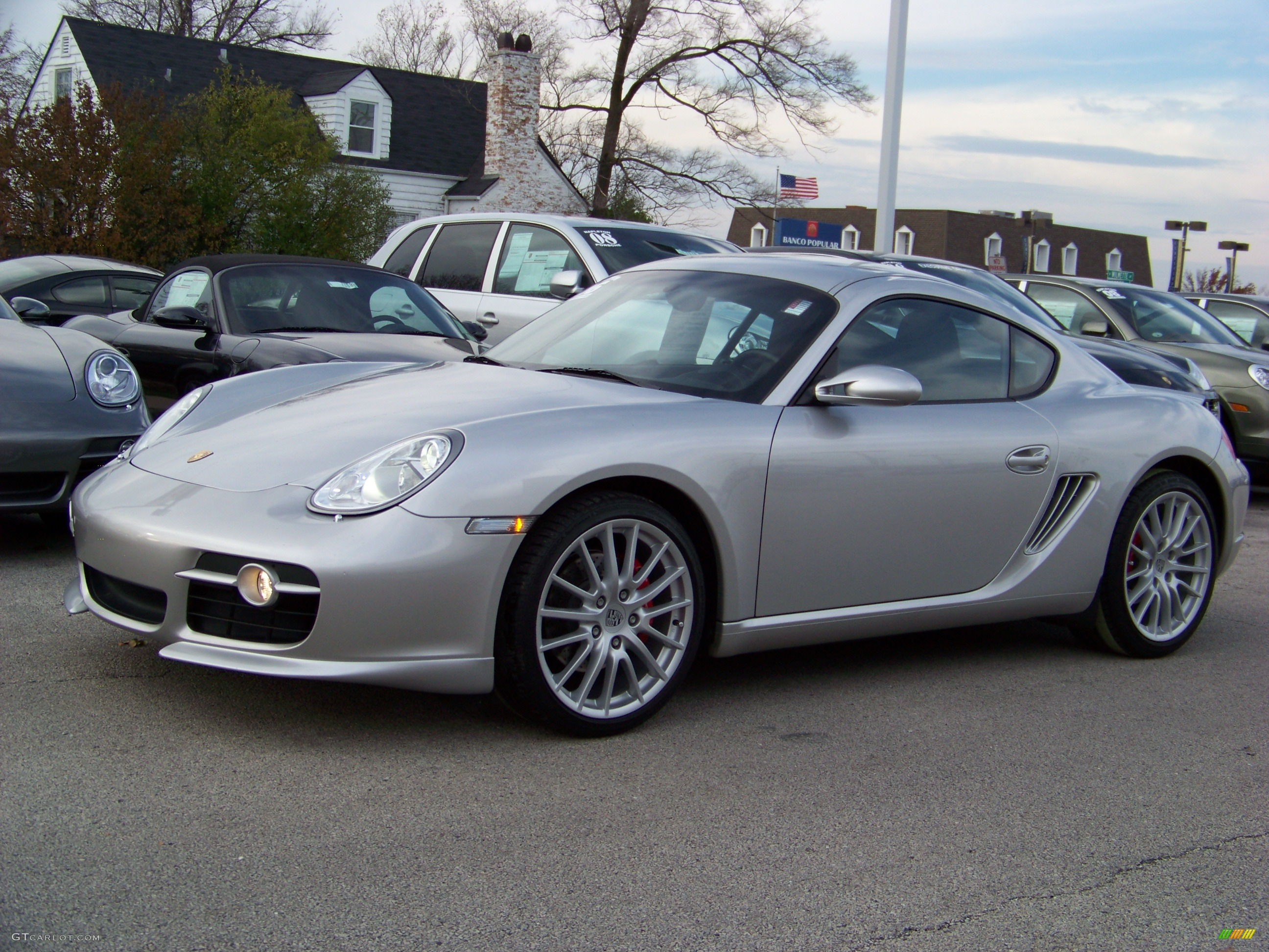 2006 arctic silver metallic porsche cayman s 480953 car color galleries. Black Bedroom Furniture Sets. Home Design Ideas