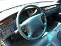 1996 Cadillac DeVille Blue Interior Steering Wheel Photo