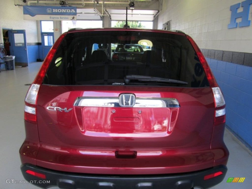 2009 CR-V EX-L 4WD - Tango Red Pearl / Gray photo #3