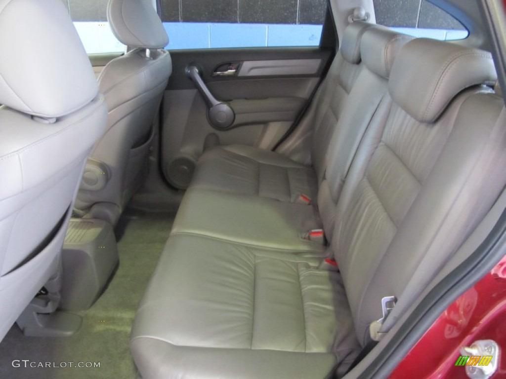 2009 CR-V EX-L 4WD - Tango Red Pearl / Gray photo #8