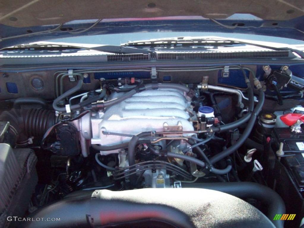 2003 Mitsubishi Montero XLS 4x4 3.8 Liter SOHC 24-Valve V6 Engine Photo #51162903 | GTCarLot.com