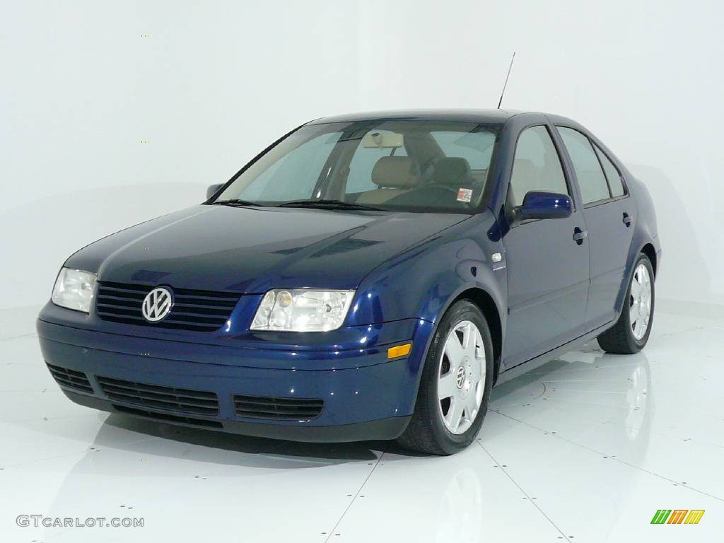2001 galactic blue volkswagen jetta gls vr6 sedan 441244. Black Bedroom Furniture Sets. Home Design Ideas