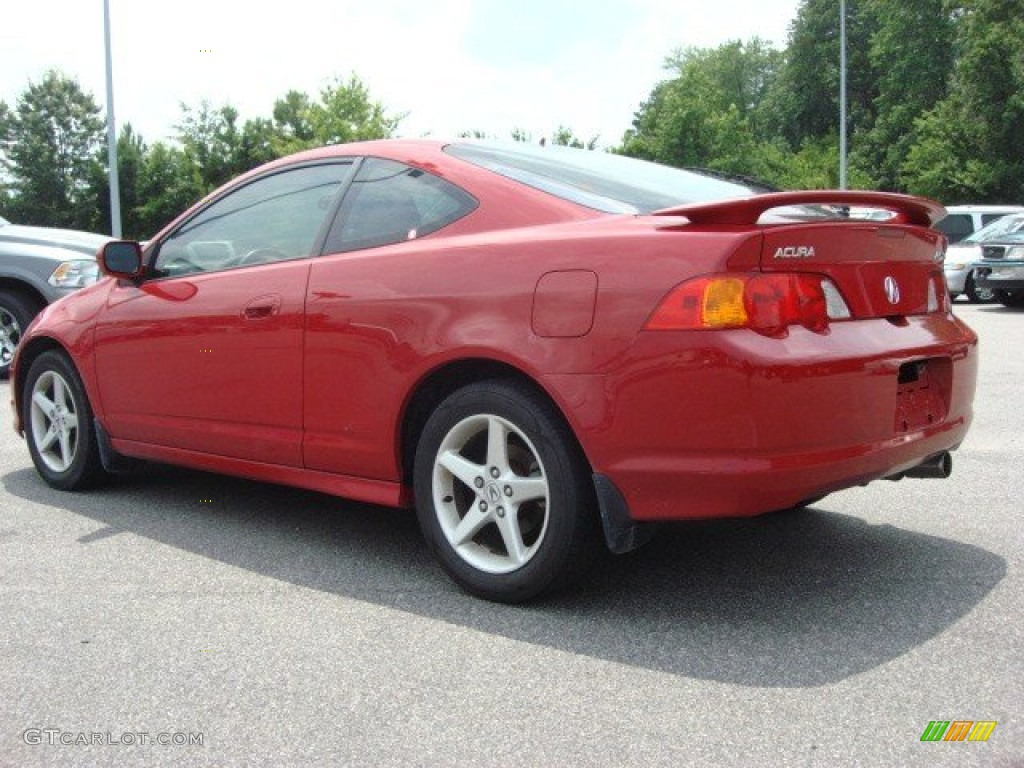 milano red 2004 acura rsx type s sports coupe exterior photo 51168720. Black Bedroom Furniture Sets. Home Design Ideas