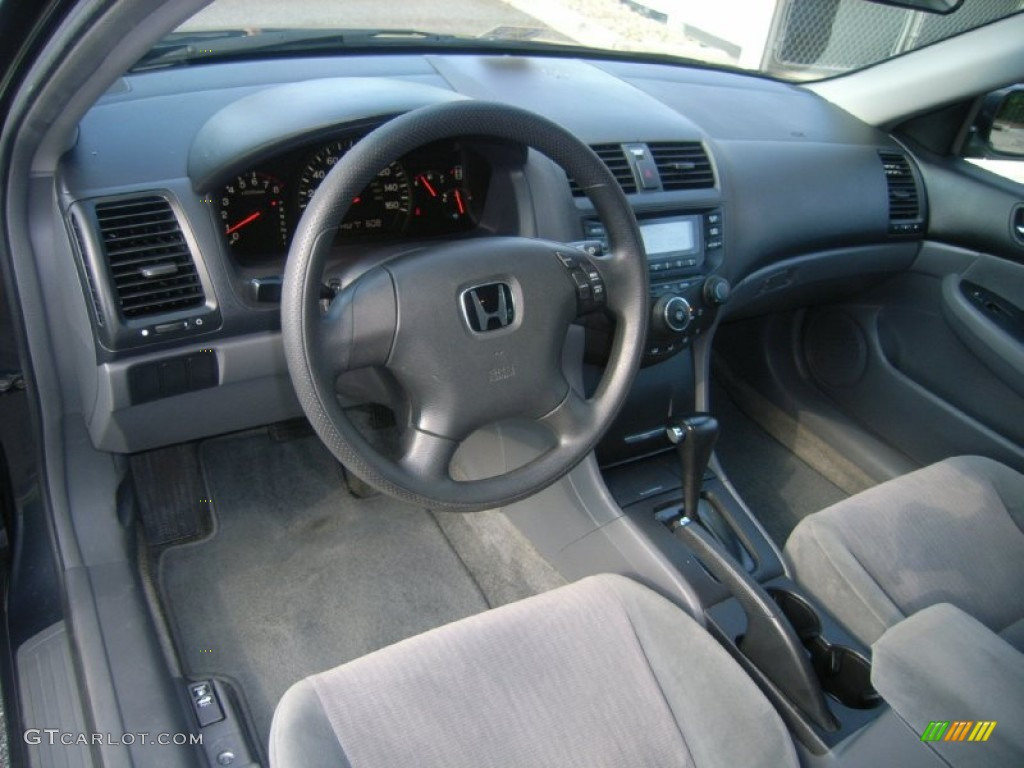 gray interior 2005 honda accord lx sedan photo 51178926. Black Bedroom Furniture Sets. Home Design Ideas