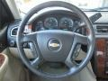Light Cashmere/Ebony Accents Steering Wheel Photo for 2008 Chevrolet Silverado 1500 #51186681