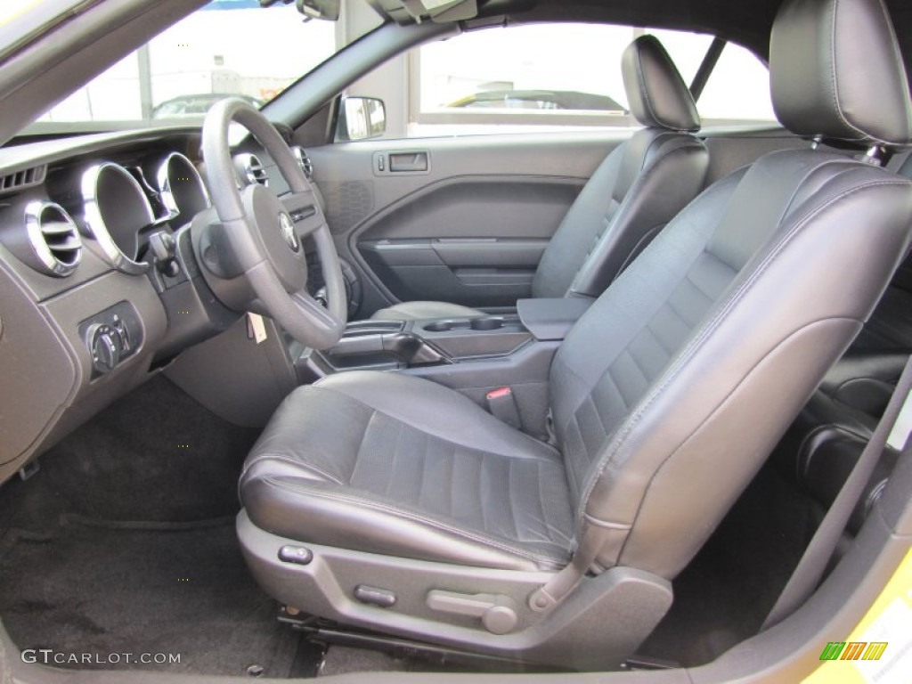 Black Interior 2006 Ford Mustang Gt Premium Convertible Photo 51186891