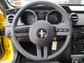Black 2006 Ford Mustang GT Premium Convertible Steering Wheel