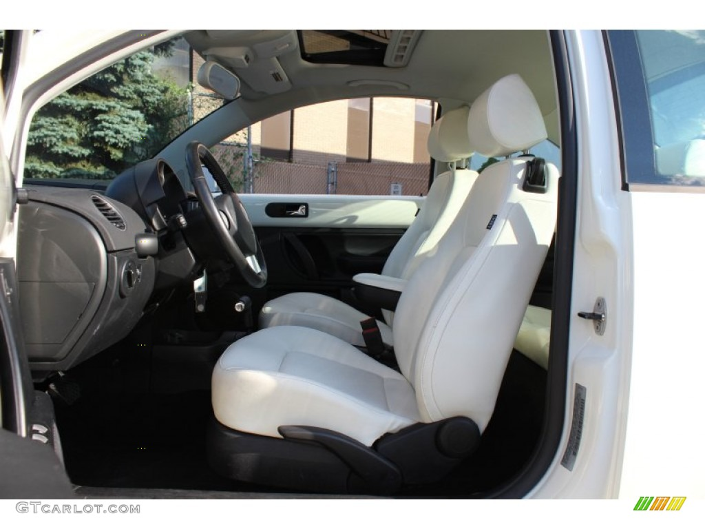 Black Interior 2008 Volkswagen New Beetle Triple White Coupe Photo 51193060