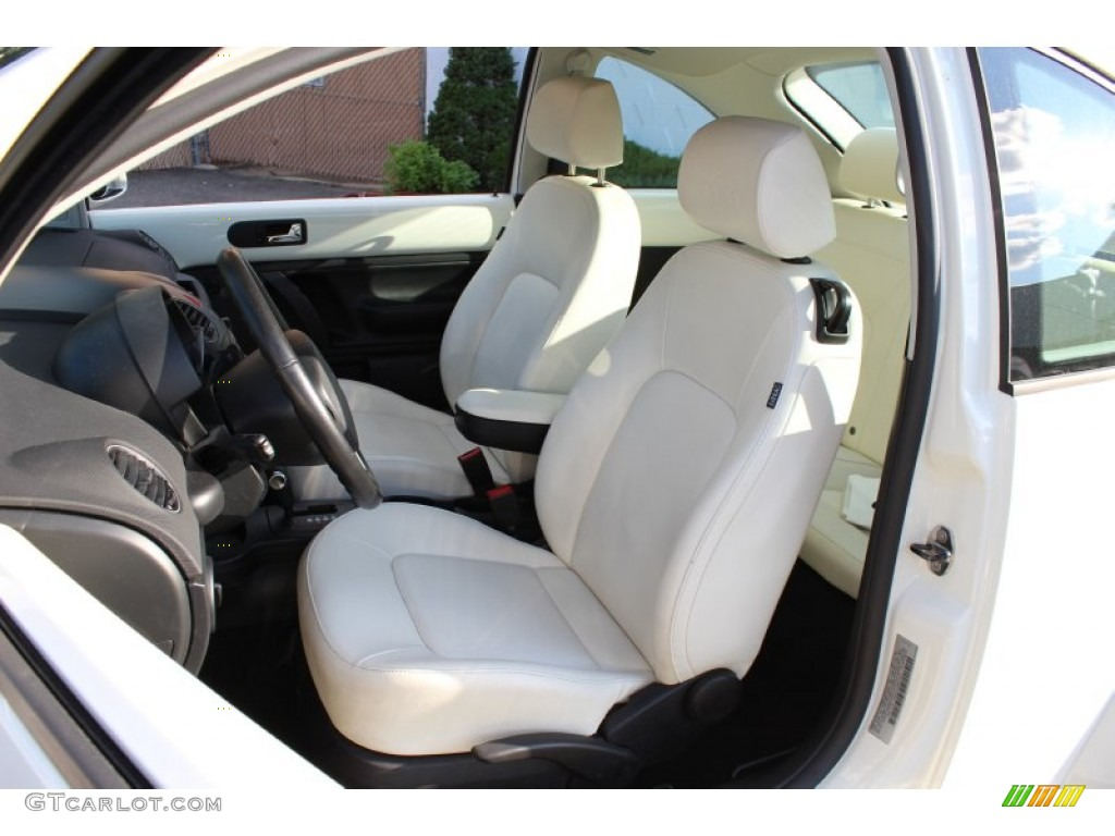 Black Interior 2008 Volkswagen New Beetle Triple White Coupe Photo 51193075