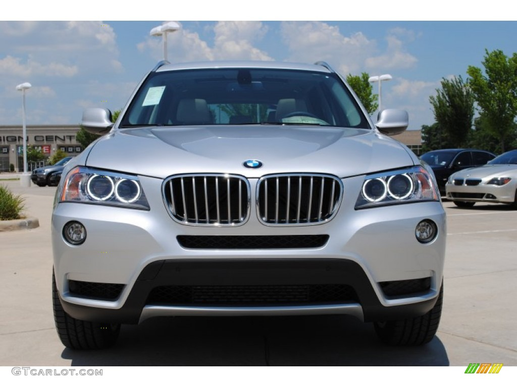 Titanium Silver Metallic 2011 Bmw X3 Xdrive 35i Exterior Photo 51193327