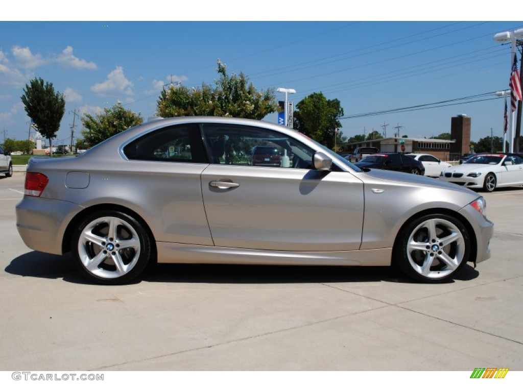 cashmere silver metallic 2010 bmw 1 series 135i coupe exterior photo 51194845. Black Bedroom Furniture Sets. Home Design Ideas