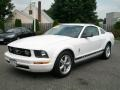 2007 Performance White Ford Mustang V6 Deluxe Coupe  photo #7