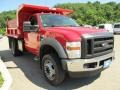 F1 - Red Clearcoat Ford F450 Super Duty (2008)