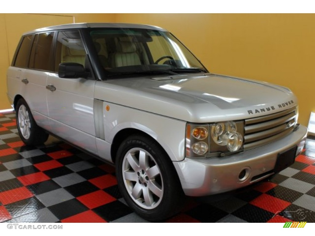 2005 zambezi silver metallic land rover range rover hse 51189175 car color. Black Bedroom Furniture Sets. Home Design Ideas