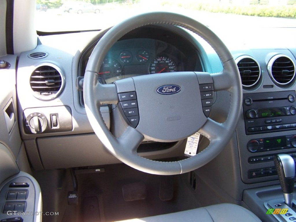 2006 Ford Freestyle Sel Shale Grey Steering Wheel Photo 51216365