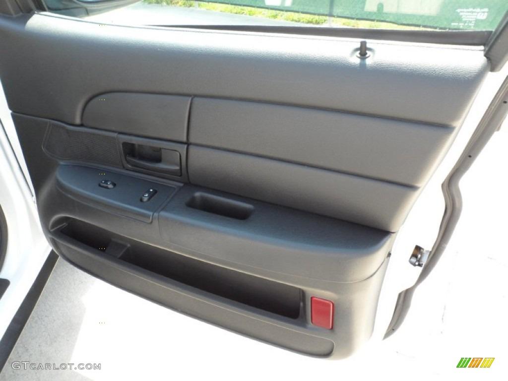 2008 Ford Crown Victoria Police Interceptor Charcoal Black Door Panel Photo 51220346