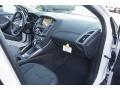 2012 White Platinum Tricoat Metallic Ford Focus Titanium 5-Door  photo #15