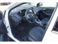 2012 White Platinum Tricoat Metallic Ford Focus Titanium 5-Door  photo #24