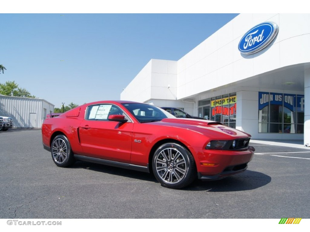 2012 red candy metallic ford mustang gt premium coupe 51188902 car color galleries. Black Bedroom Furniture Sets. Home Design Ideas