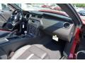2012 Ford Mustang Charcoal Black/Cashmere Interior Dashboard Photo