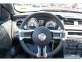 2012 Ford Mustang Charcoal Black/Cashmere Interior Steering Wheel Photo