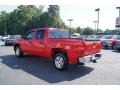 2009 Victory Red Chevrolet Silverado 1500 LT XFE Crew Cab  photo #42