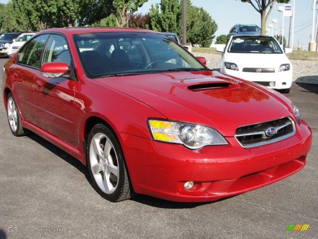 2005 garnet red pearl subaru legacy 2 5 gt limited sedan. Black Bedroom Furniture Sets. Home Design Ideas